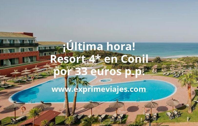 ¡Última hora! Conil de la Frontera: Resort 4* por 33€ p.p/noche