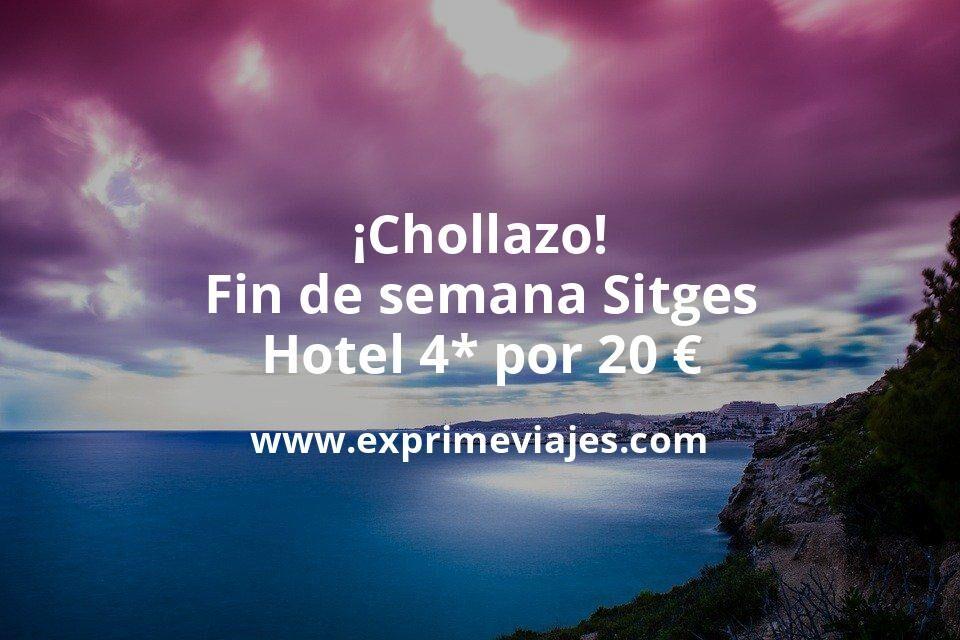 ¡Chollazo! Fin de semana Sitges: Hotel Spa 4* por 20€ p.p/noche