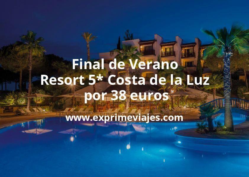 Final de Verano: Resort 5* Costa de la Luz por 38€ p.p/noche