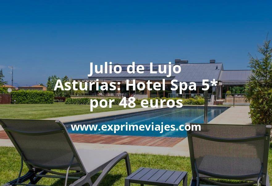 Julio de Lujo en Asturias: Hotel Spa 5* por 48€ p.p/noche