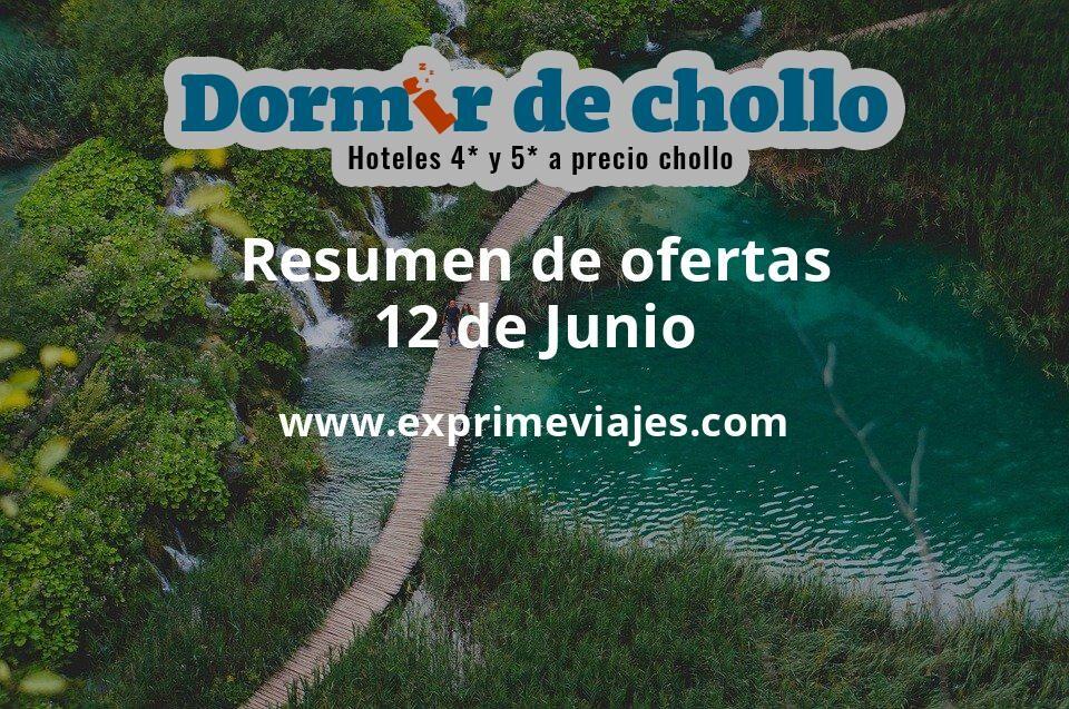 Resumen de ofertas de Dormir de Chollo – 12 de junio