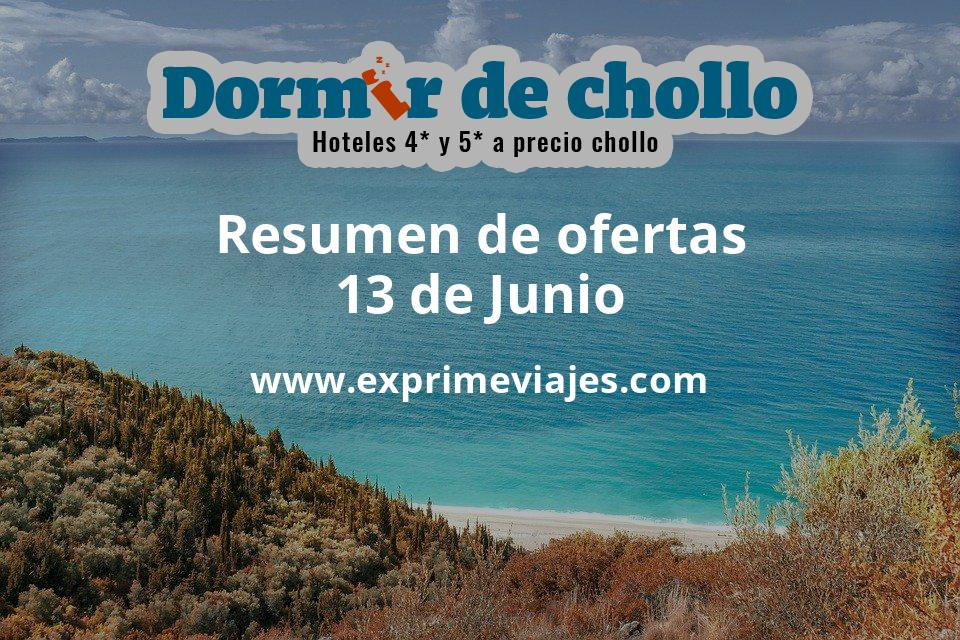 Resumen de ofertas de Dormir de Chollo – 13 de junio