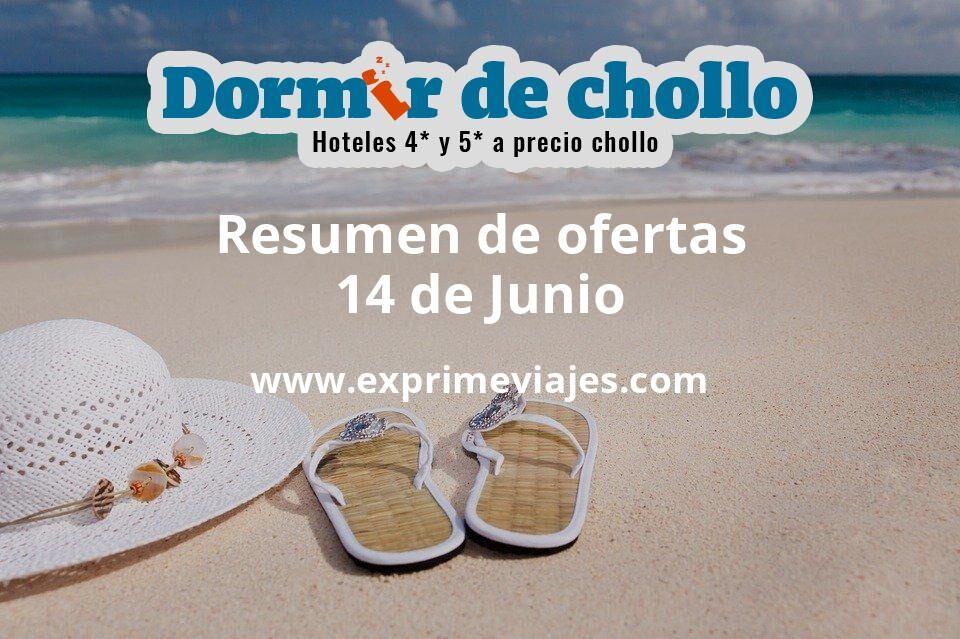 Resumen de ofertas de Dormir de Chollo – 14 de junio
