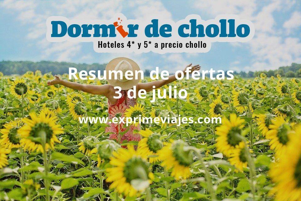 Resumen de ofertas de Dormir de Chollo – 3 de julio