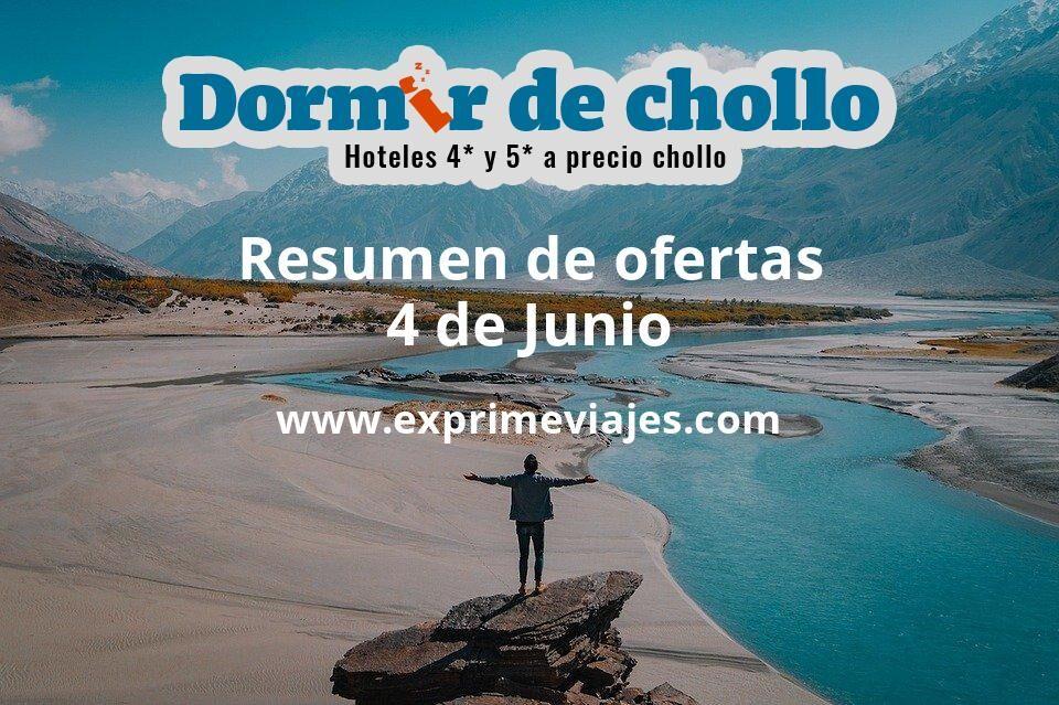Resumen de ofertas de Dormir de Chollo – 4 de junio