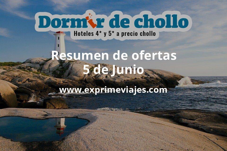 Resumen de ofertas de Dormir de Chollo – 5 de junio