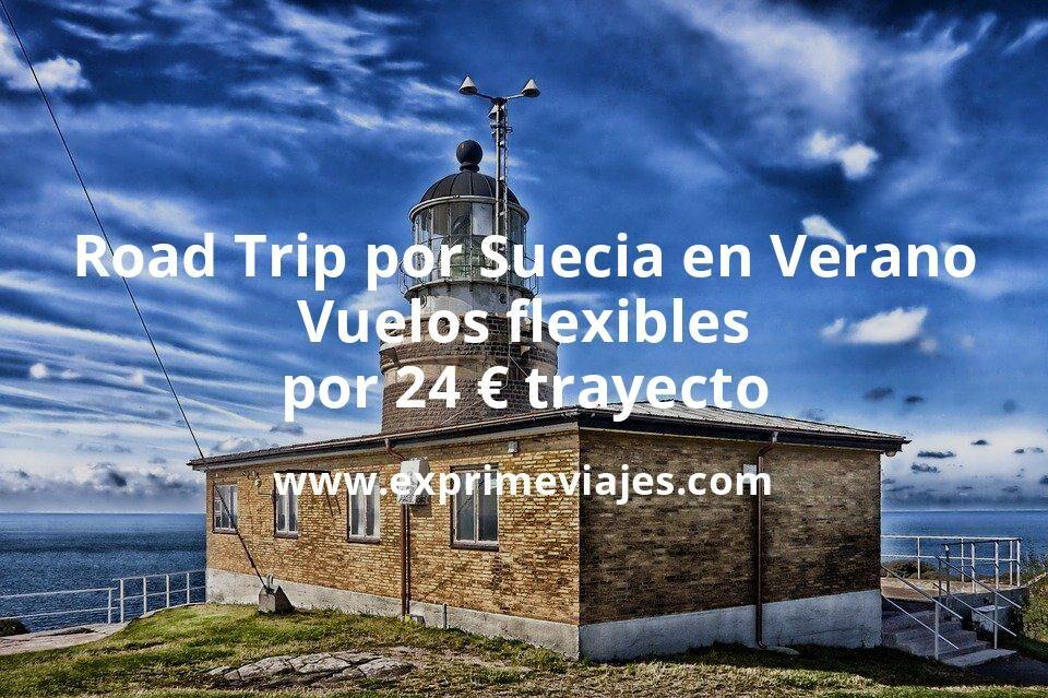 Road Trip por Suecia en Verano: Vuelos flexibles por 24€ trayecto