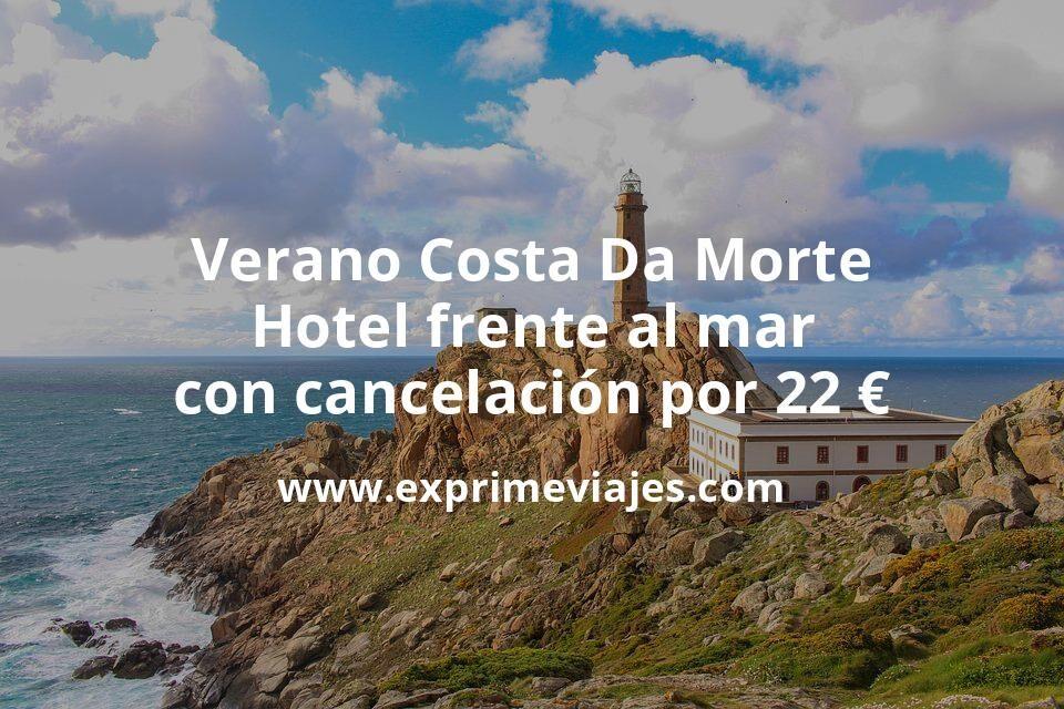 ¡Chollazo! Verano Costa Da Morte: Hotel frente al mar con cancelación por 22€ p.p/noche