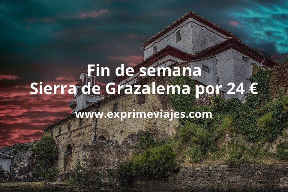 ¡Wow! Fin de semana en la Sierra de Grazalema por 24€ p.p/noche
