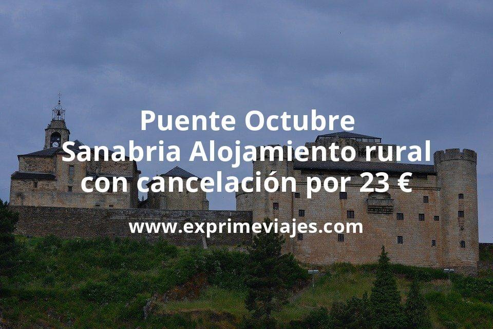 Puente Octubre Lago de Sanabria: Alojamiento rural con cancelación por 23€ p.p/noche