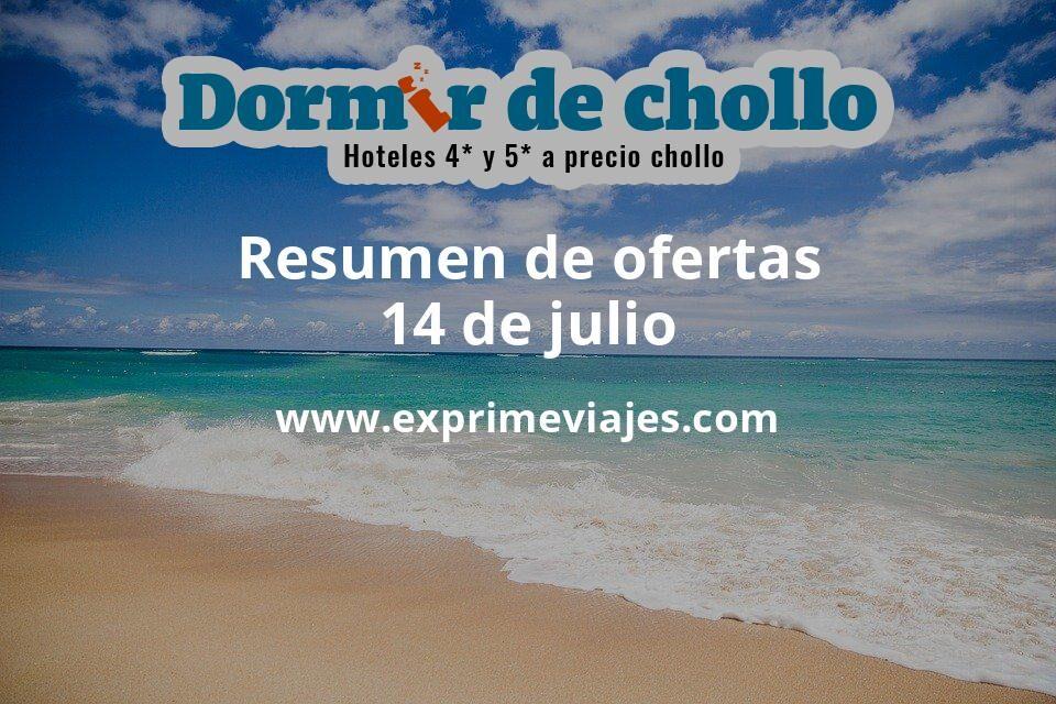 Resumen de ofertas de Dormir de Chollo – 14 de julio