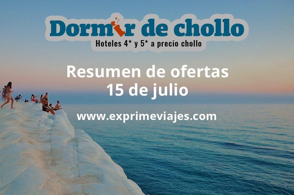Resumen de ofertas de Dormir de Chollo – 15 de julio