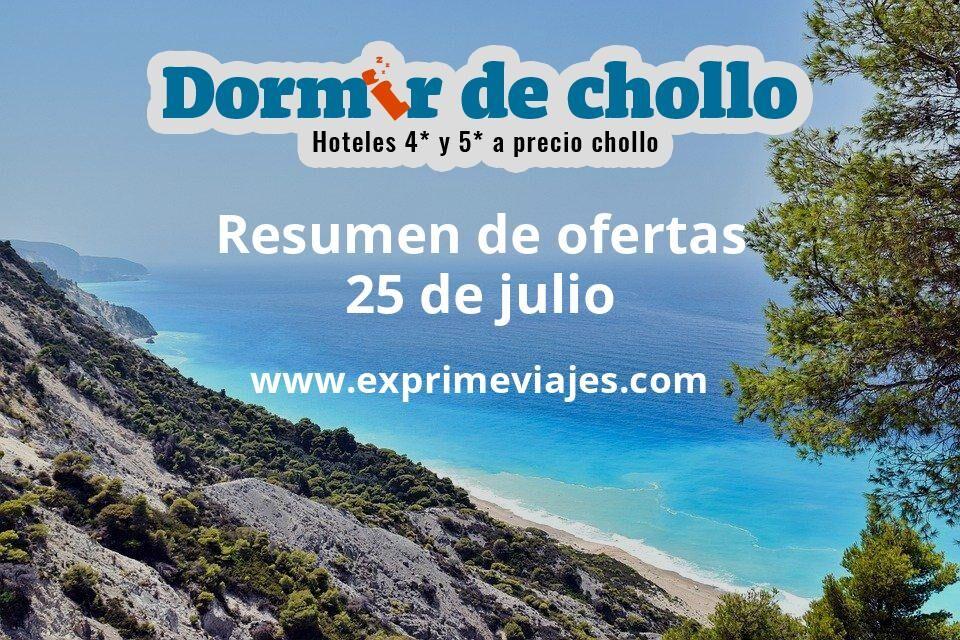 Resumen de ofertas de Dormir de Chollo – 25 de julio