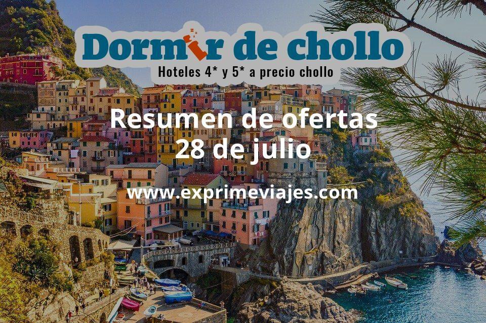 Resumen de ofertas de Dormir de Chollo – 28 de julio