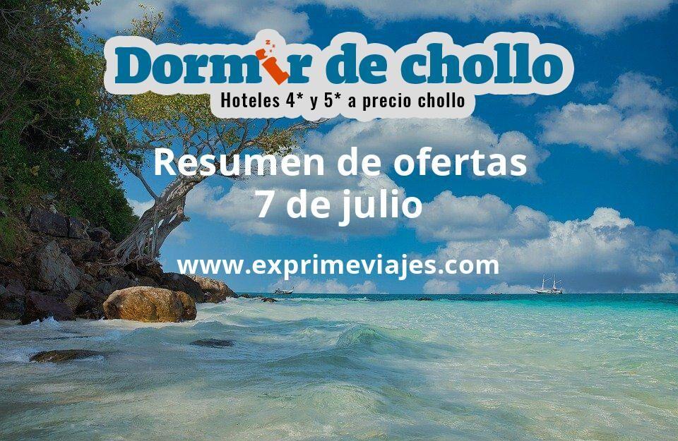 Resumen de ofertas de Dormir de Chollo – 7 de julio