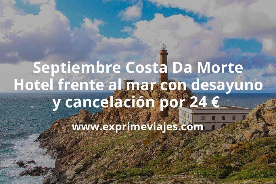 Septiembre Costa Da Morte: Hotel frente al mar con desayuno y cancelación por 24€ p.p/noche
