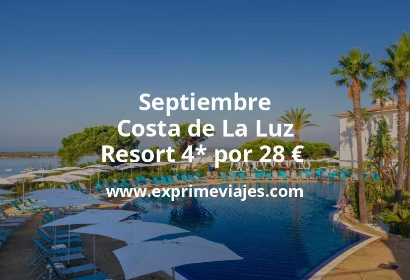 ¡Wow! Resort 4* en Costa de La Luz por 28€ p.p/noche