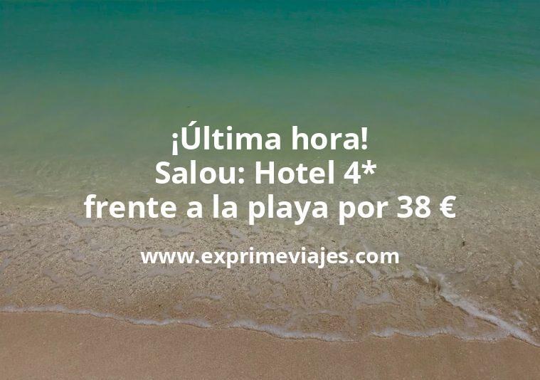 ¡Última hora! Salou: Hotel 4* frente a la playa por 38€ p.p/noche