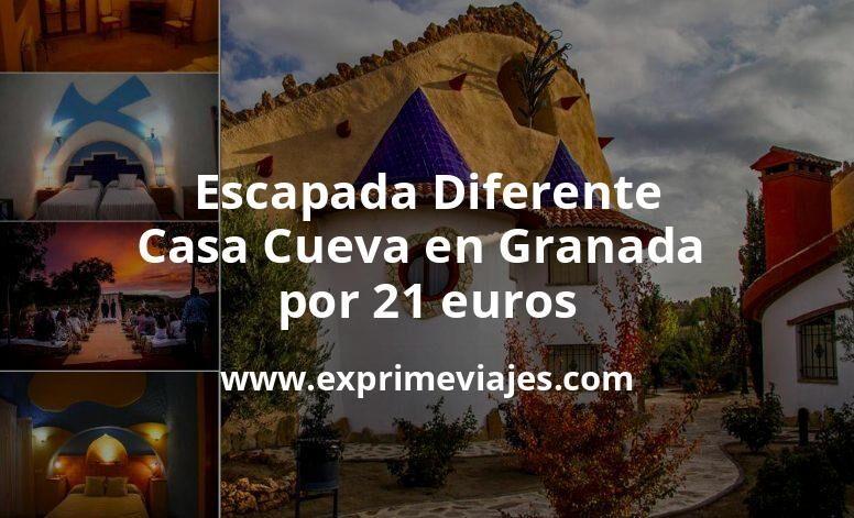 Escapada Diferente: Casa Cueva en Granada por 21€ p.p/noche