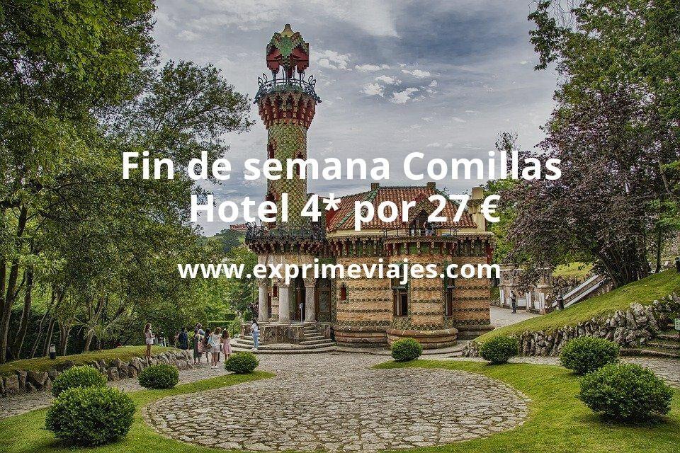Fin de semana en Comillas (Cantabria): Hotel 4* por 27€ p.p/noche