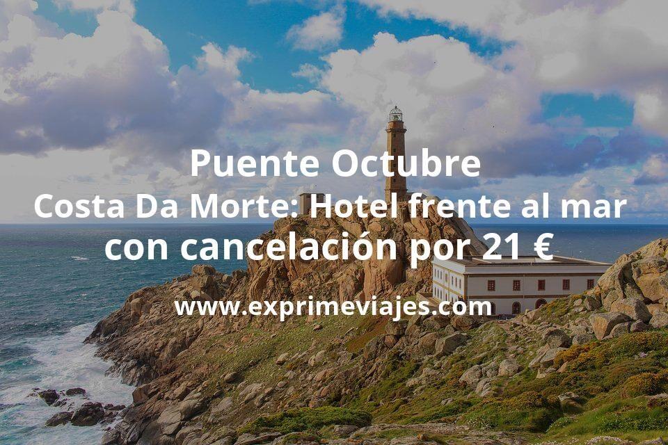 Puente Octubre Costa Da Morte: Hotel frente al mar con cancelación por 21€ p.p/noche
