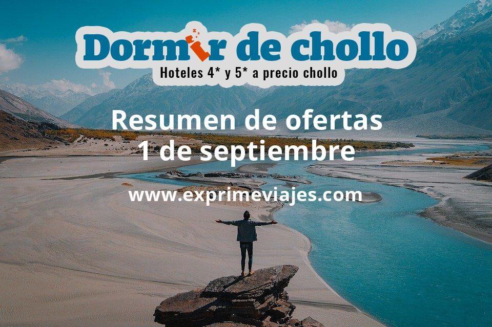 Resumen de ofertas de Dormir de Chollo – 1 de septiembre