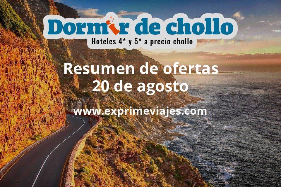 Resumen de ofertas de Dormir de Chollo – 20 de agosto