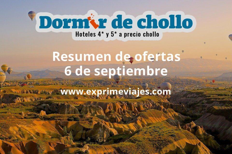 Resumen de ofertas de Dormir de Chollo – 6 de septiembre