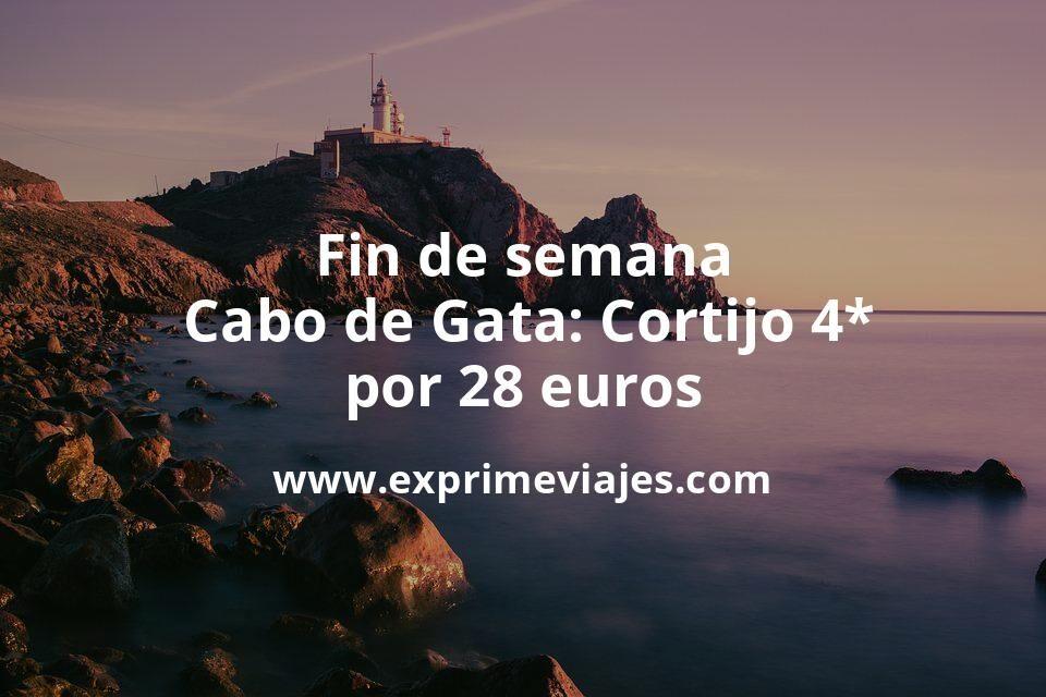 Fin de semana Cabo de Gata: Cortijo 4* por 28€ p.p/noche