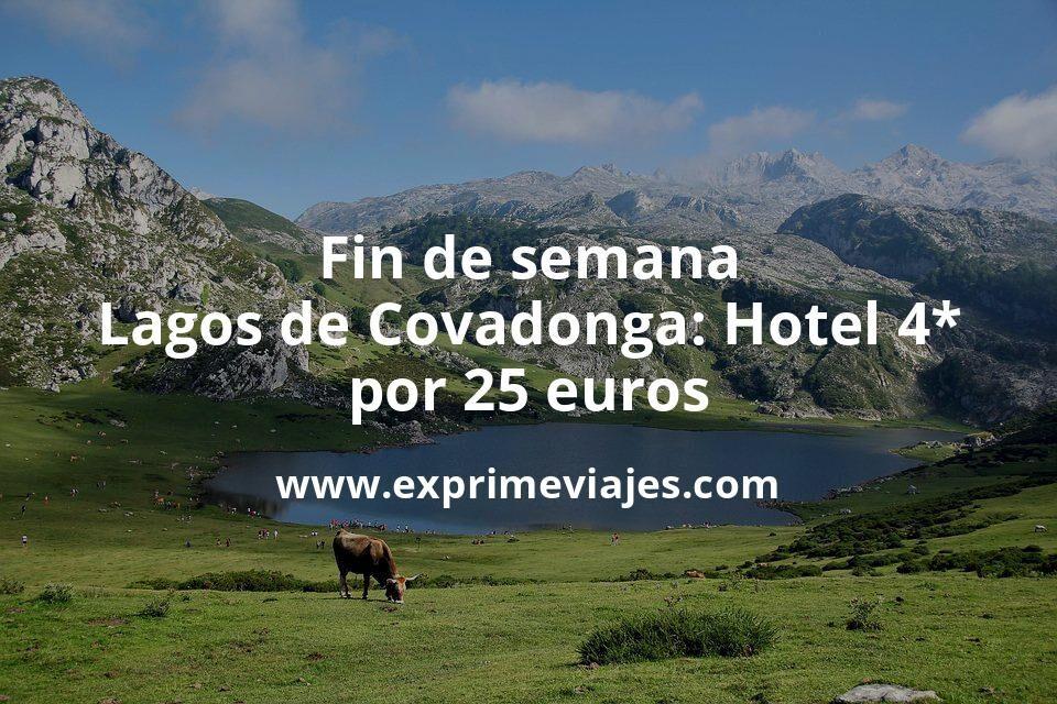 Fin de semana Lagos de Covadonga: Hotel 4* por 25€ p.p/noche