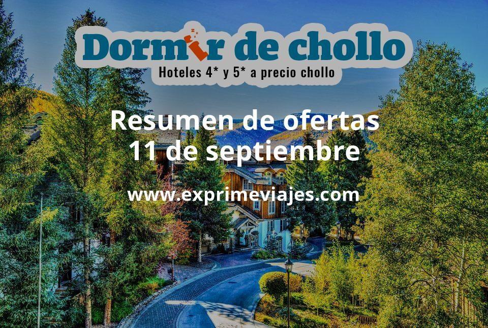 Resumen de ofertas de Dormir de Chollo – 11 de septiembre