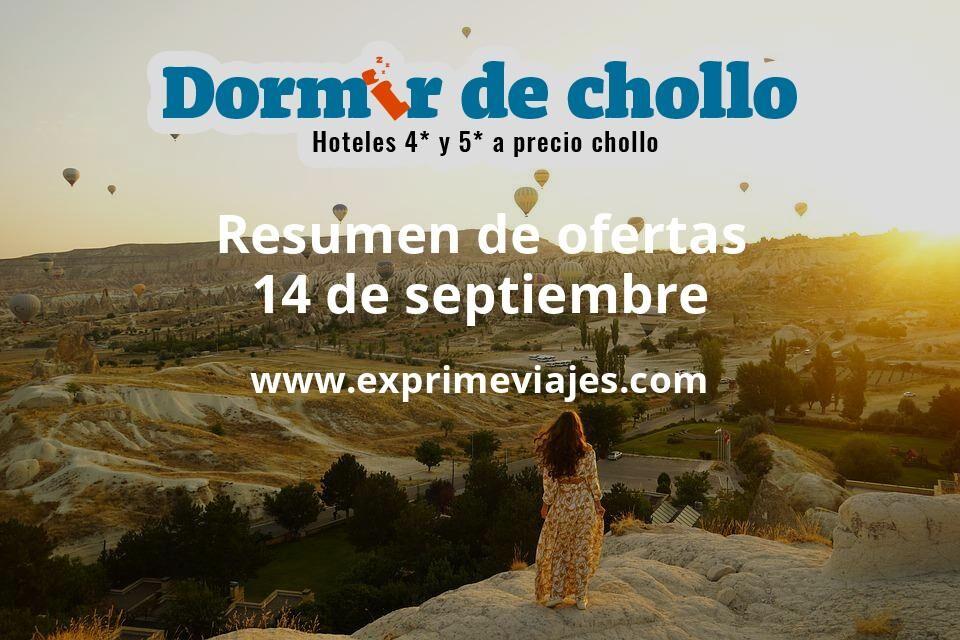 Resumen de ofertas de Dormir de Chollo – 14 de septiembre