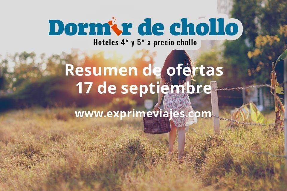 Resumen de ofertas de Dormir de Chollo – 17 de septiembre