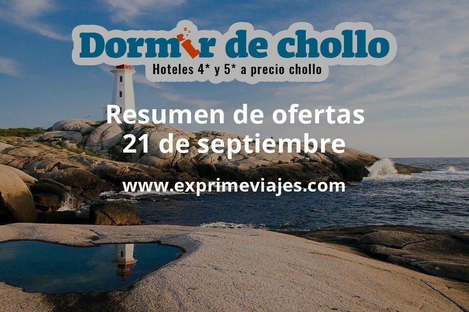Resumen de ofertas de Dormir de Chollo – 21 de septiembre