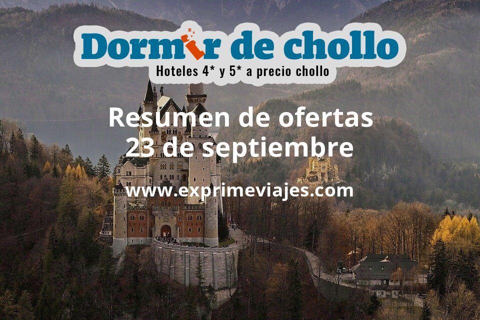 Resumen de ofertas de Dormir de Chollo – 23 de septiembre