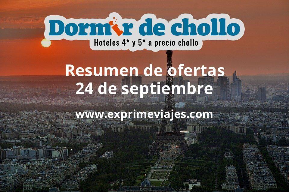 Resumen de ofertas de Dormir de Chollo – 24 de septiembre