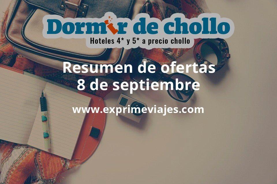 Resumen de ofertas de Dormir de Chollo – 8 de septiembre