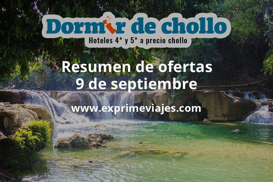 Resumen de ofertas de Dormir de Chollo – 9 de septiembre