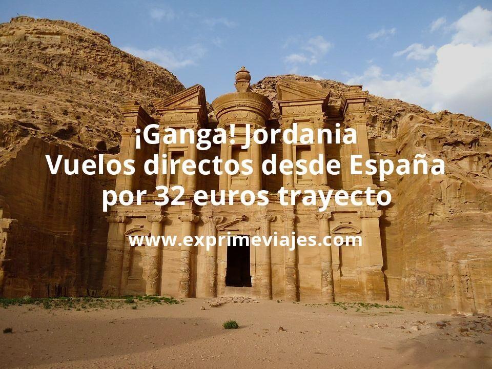 ¡Ganga! Jordania: vuelos directos desde España por 32euros trayecto
