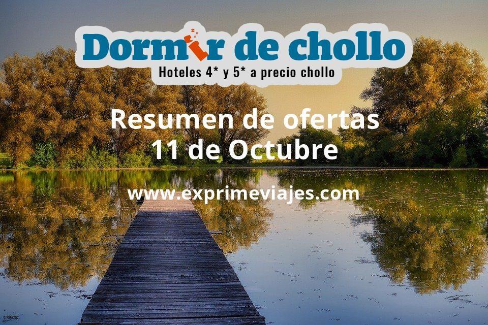 Resumen de ofertas de Dormir de Chollo – 11 de octubre