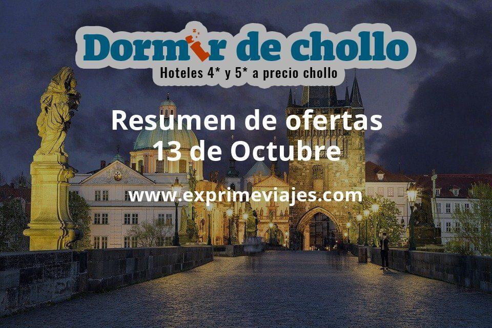 Resumen de ofertas de Dormir de Chollo – 13 de octubre