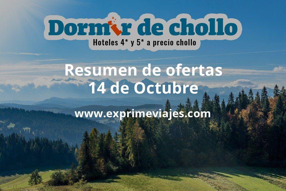 Resumen de ofertas de Dormir de Chollo – 14 de octubre