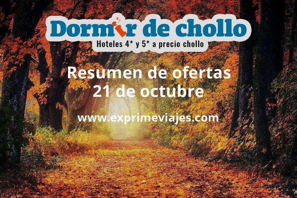 Resumen de ofertas de Dormir de Chollo – 21 de octubre