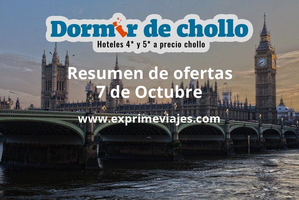 Resumen de ofertas de Dormir de Chollo – 7 de octubre