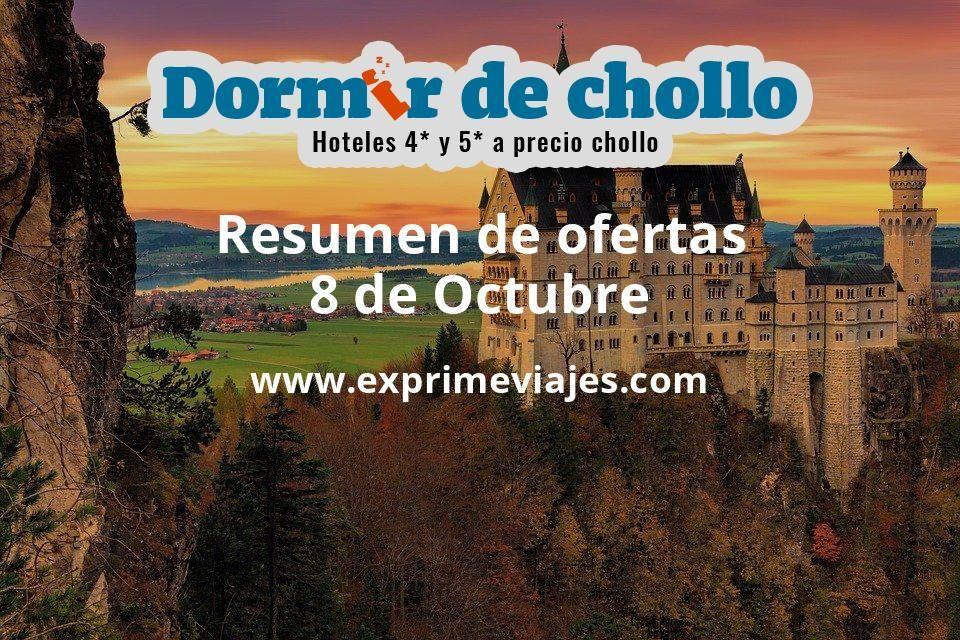 Resumen de ofertas de Dormir de Chollo – 8 de octubre